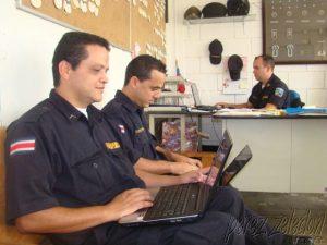 ZEWS dona sitio web a la Policía