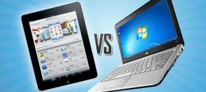 ¿Para qué sirven las tabletas?  ¿Qué ventajas me da sobre una laptop?
