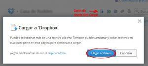 Manejo básico de Dropbox para Windows: compartir, cargar y eliminar archivos y carpetas