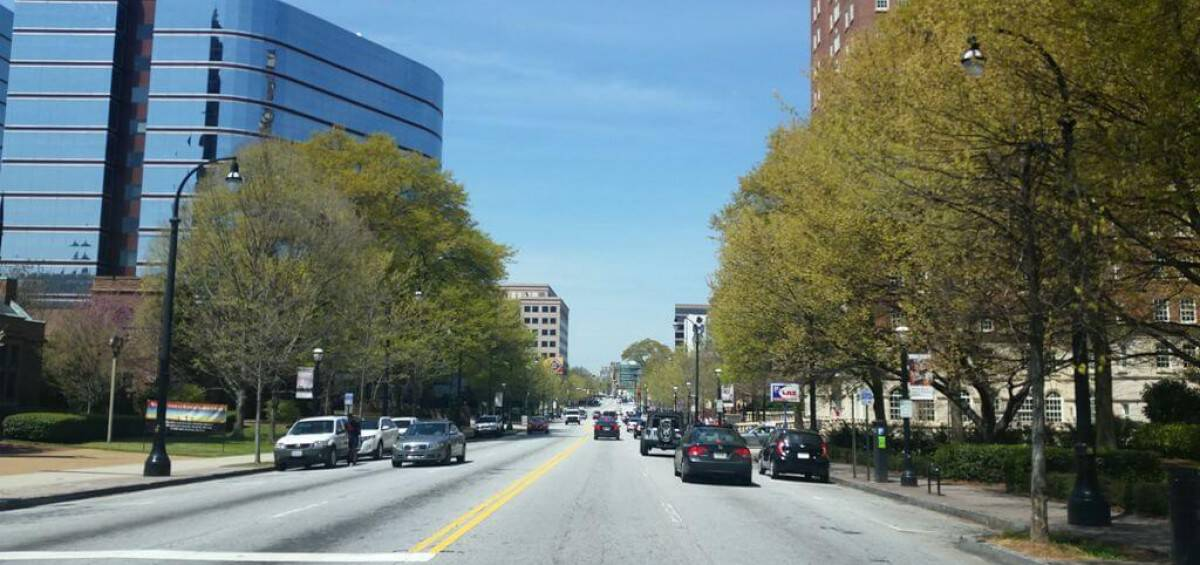 La ciudad de Atlanta