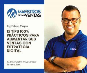Ing Fabián Vargas, CEO de ZEWS
