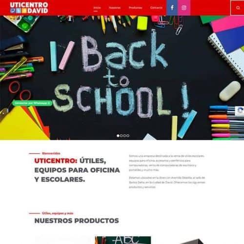 Diseño de sitios web para empresas en David, Chiriquí, Panamá