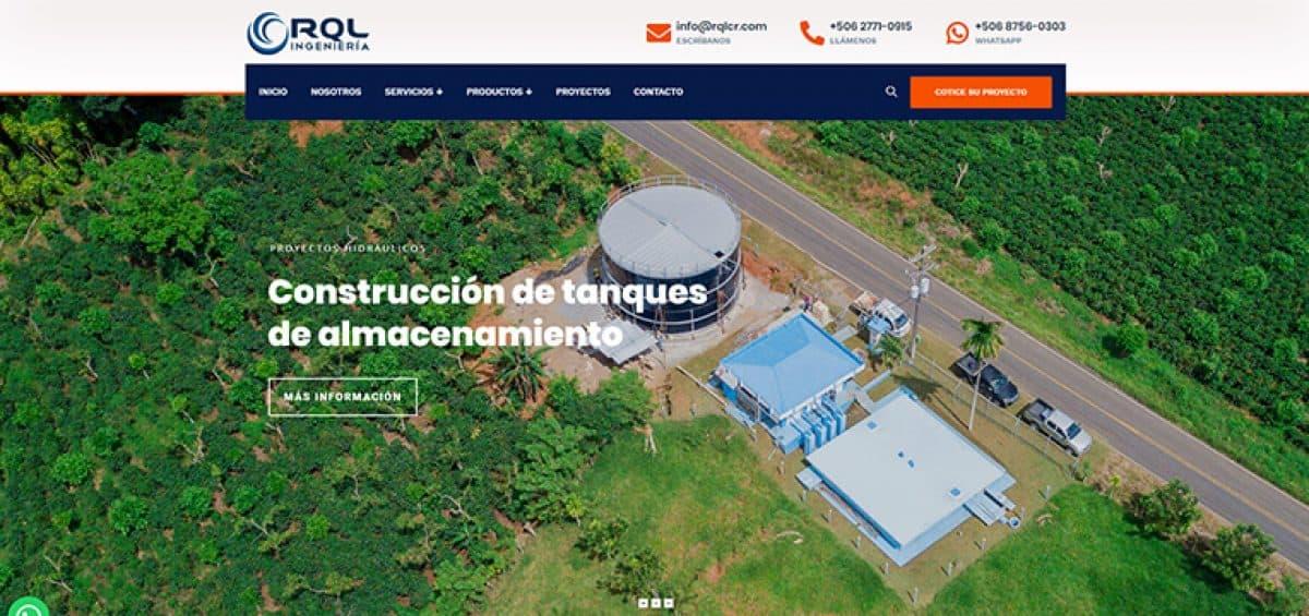 RQL Ingeniería sitio