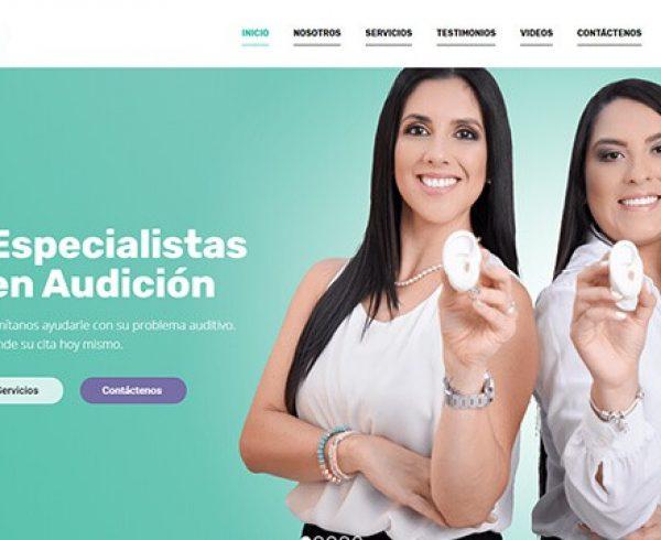 Clínica de Rehabilitación Auditiva sitio
