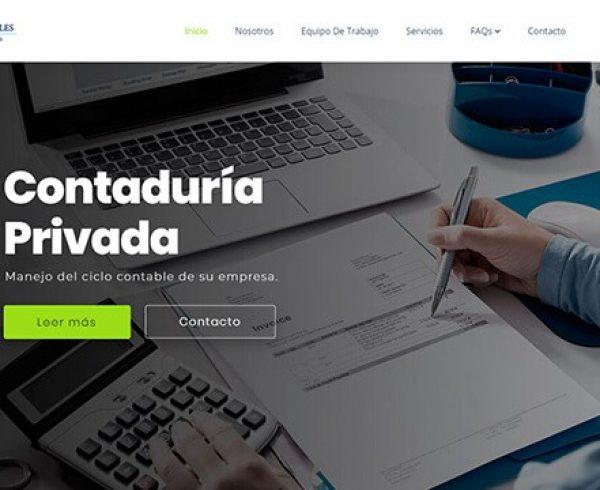 Rojas Robles Contadores y Asociados sitio