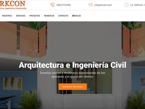 Arkcon Costa Rica sitio
