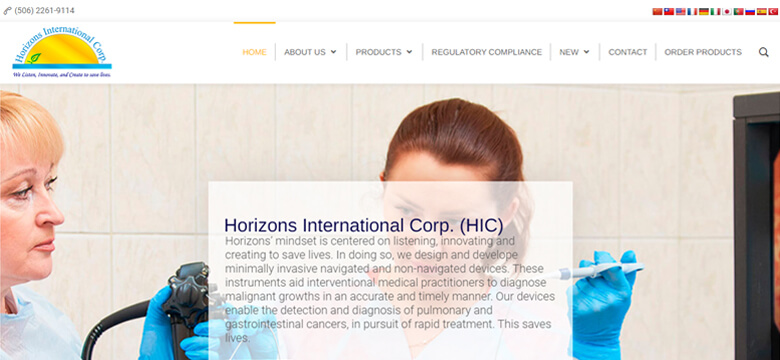 Horizons International Corp
